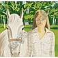 Alex Katz , b. 1927 Jean Standing oil on canvas   , Alex Katz, Click for value