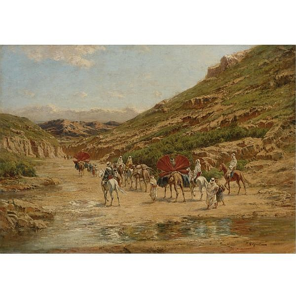Victor-Pierre Huguet , French 1835-1902 