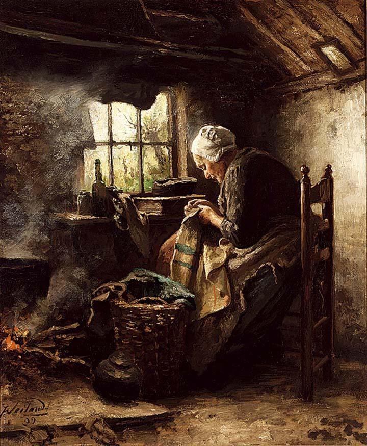JOHANNES WEILAND DUTCH 1856-1909