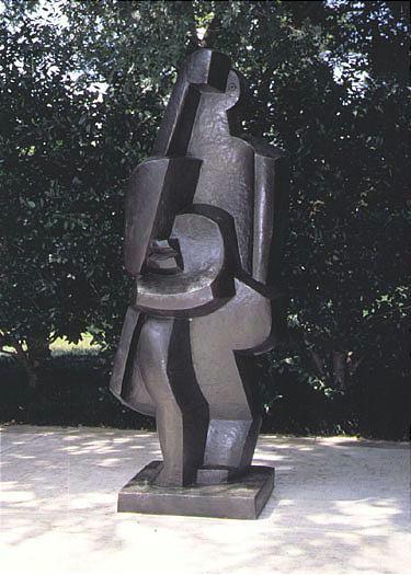 Jacques Lipchitz 1891-1973 LA BAIGNEUSE Signed J Lipchitz, marked with the thumbprint, inscribed wit...