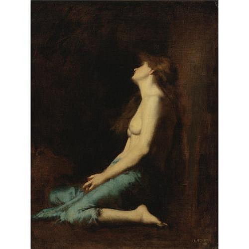 u - Jean-Jacques Henner , Mary Magdalene