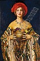 FRANK CADOGAN COWPER R.A. 1877-1958 THE GOLDEN BOWL, Frank Cadogan Cowper, Click for value