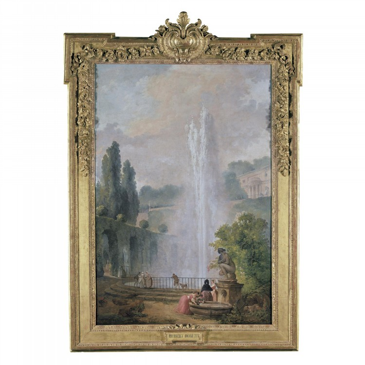 HUBERT ROBERT PARIS 1733 - 1808
