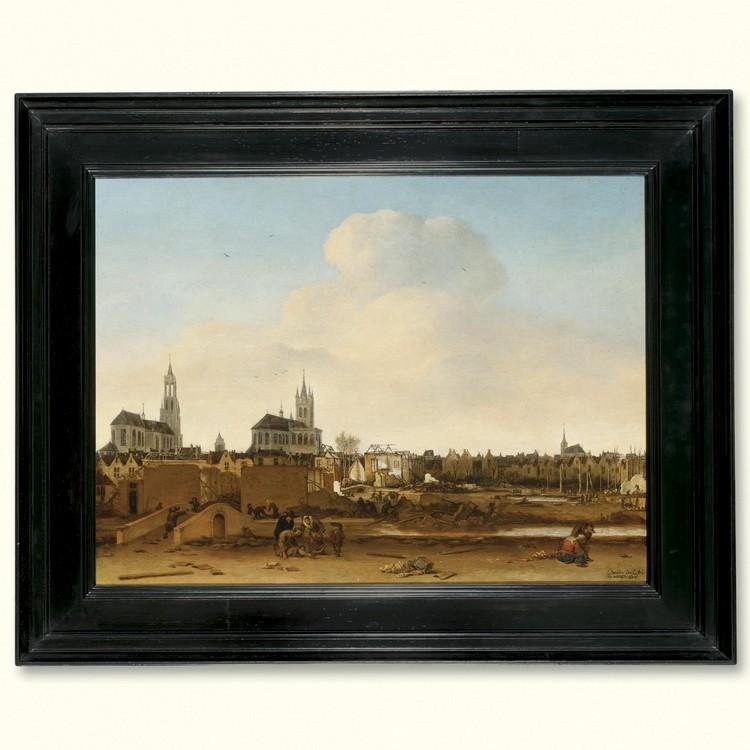 EGBERT LIEVENSZ. VAN DER POEL DELFT 1621 - 1664 ROTTERDAM