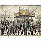 Laurence Stephen Lowry, R.A. , 1887-1976 the fairground oil on canvas, L.S. Lowry, Click for value