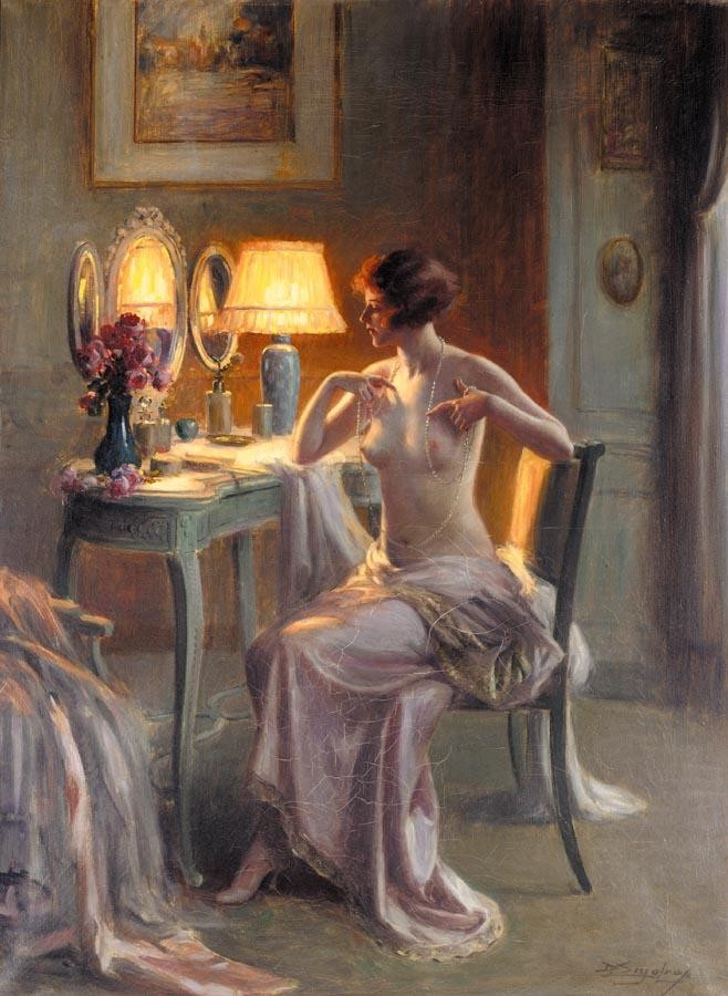 f - DELPHIN ENJOLRAS FRENCH, 1857-1945
