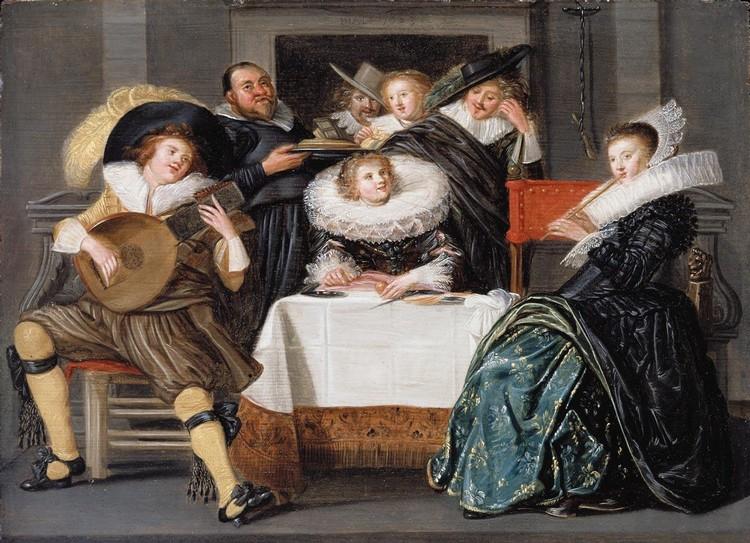 DIRCK HALS HAARLEM 1591 - 1656