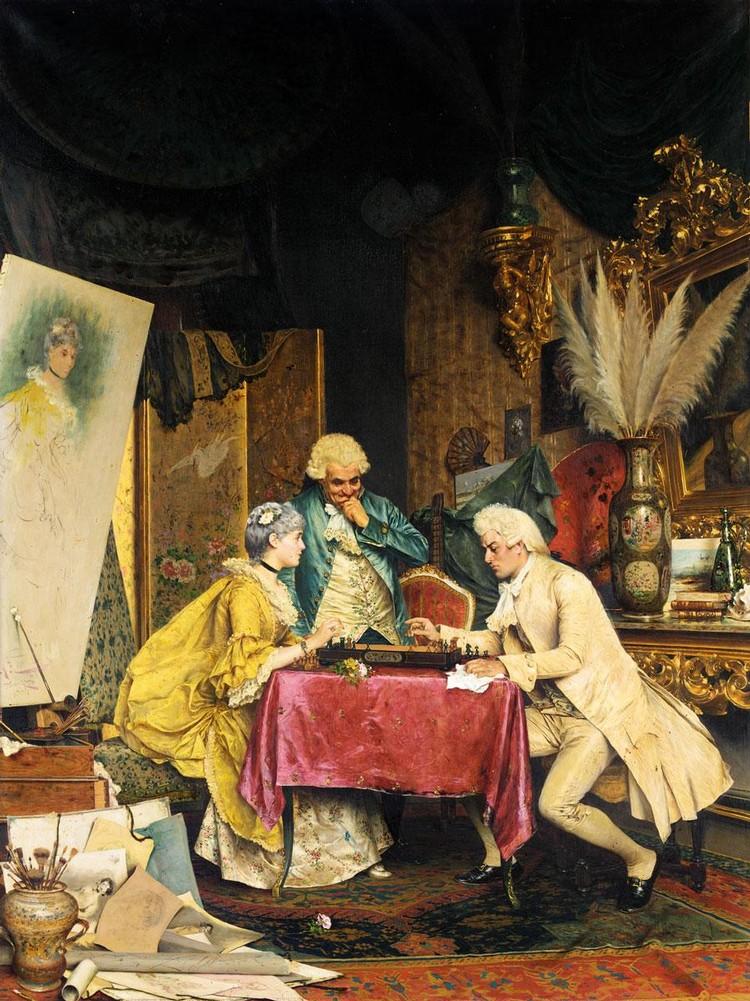 ARTURO RICCI ITALIAN, 1854-1919