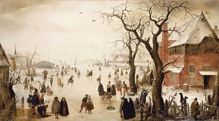 * HENDRICK AVERCAMP AMSTERDAM 1585 - 1634 KAMPEN