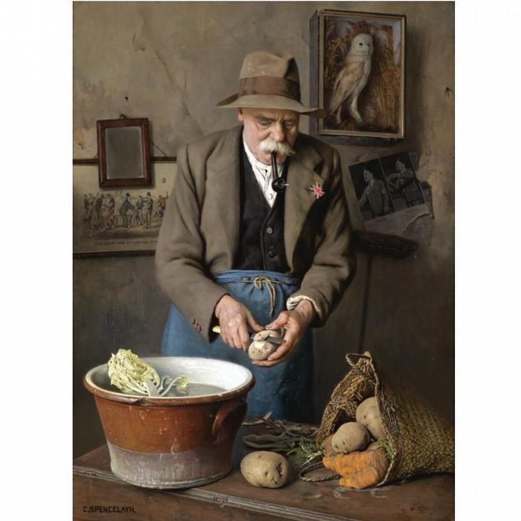 CHARLES SPENCELAYH 1865-1958
