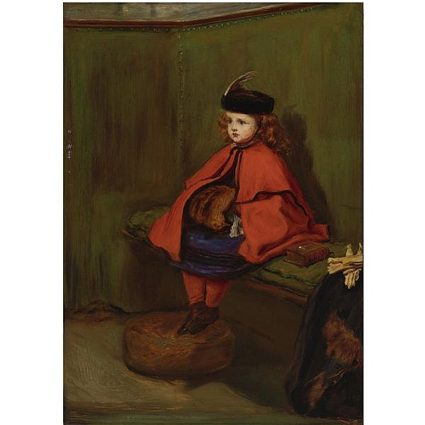 - Sir John Everett Millais, P.R.A. , 1829-1896 my first sermon oil on panel