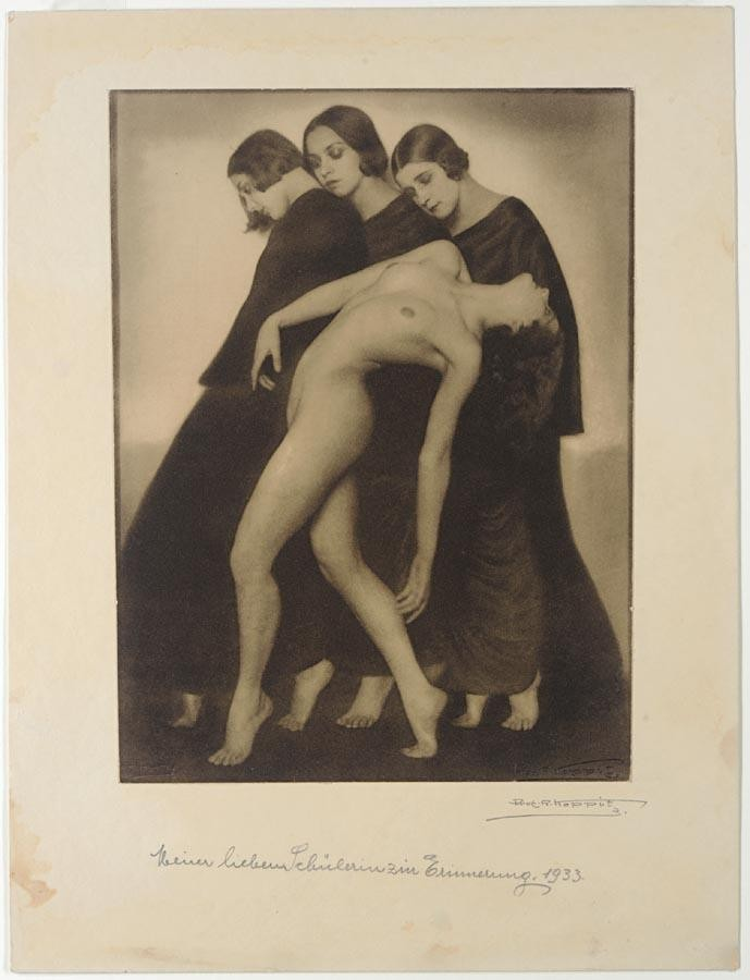 c - PROFESSOR RUDOLF KOPPITZ, 1884-1936 BEWEGUNGSSTUDIE (MOVEMENT STUDY), 1924, PRINTED 1933 OR