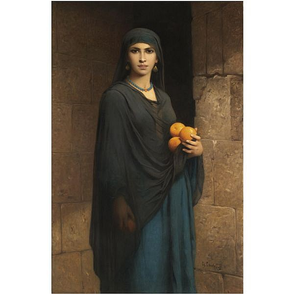 Charles Landelle , French 1812-1908 