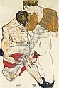 f - EGON SCHIELE, Egon Schiele, Click for value