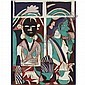 K. G. Subramanyan (b. 1924) , Untitled Reverse painting on acrylic, Kalpathi Ganapathi Subramanyan, Click for value