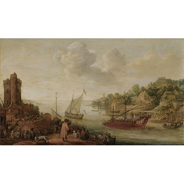 Adam Willaerts , Antwerp 1577 - 1664 Utrecht 