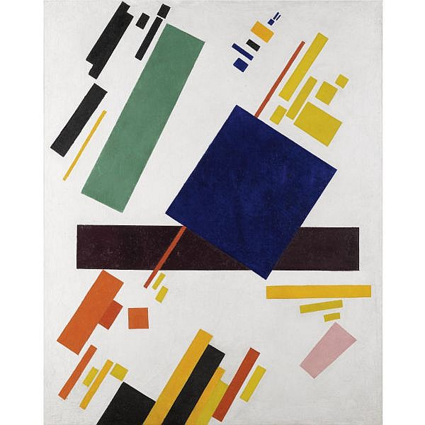 - Kazimir Malevich , 1879-1935 Suprematist Composition Oil on canvas
