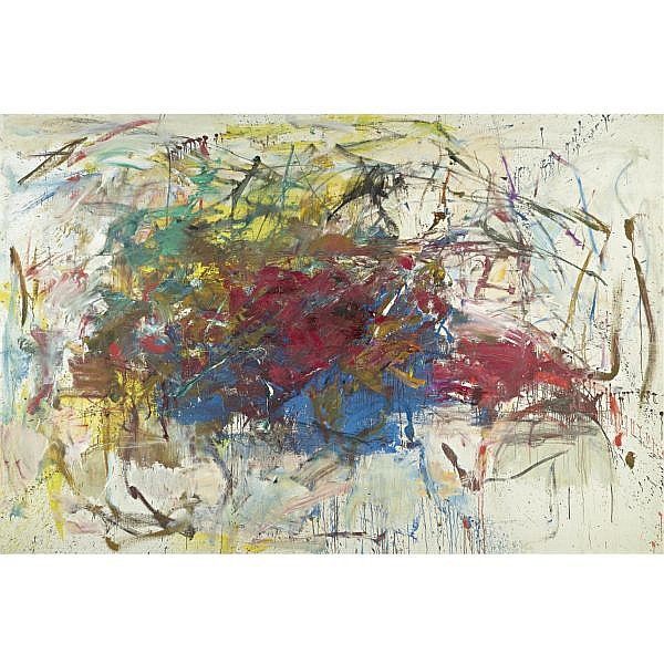 Joan Mitchell , 1925-1992 Untitled oil on canvas