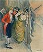 c - THÉOPHILE ALEXANDRE STEINLEN 1859-1923 LE CAFÉ CONCERT, Theophile Alexandre Steinlen, Click for value