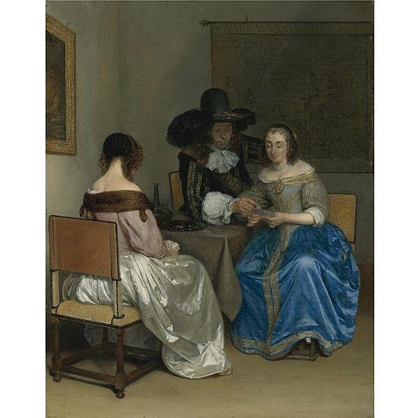 Gerard ter Borch , Zwolle 1617 - 1681 Deventer 