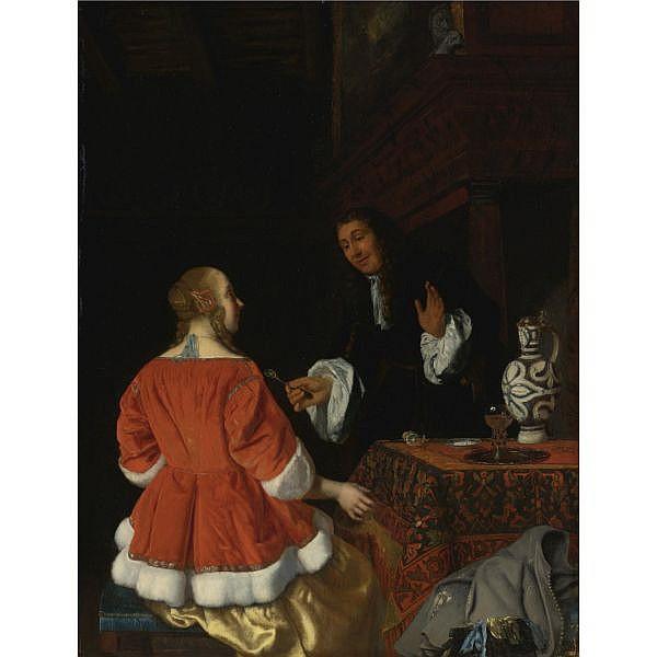 Jacob Ochtervelt , Rotterdam 1634 - 1682 Amsterdam