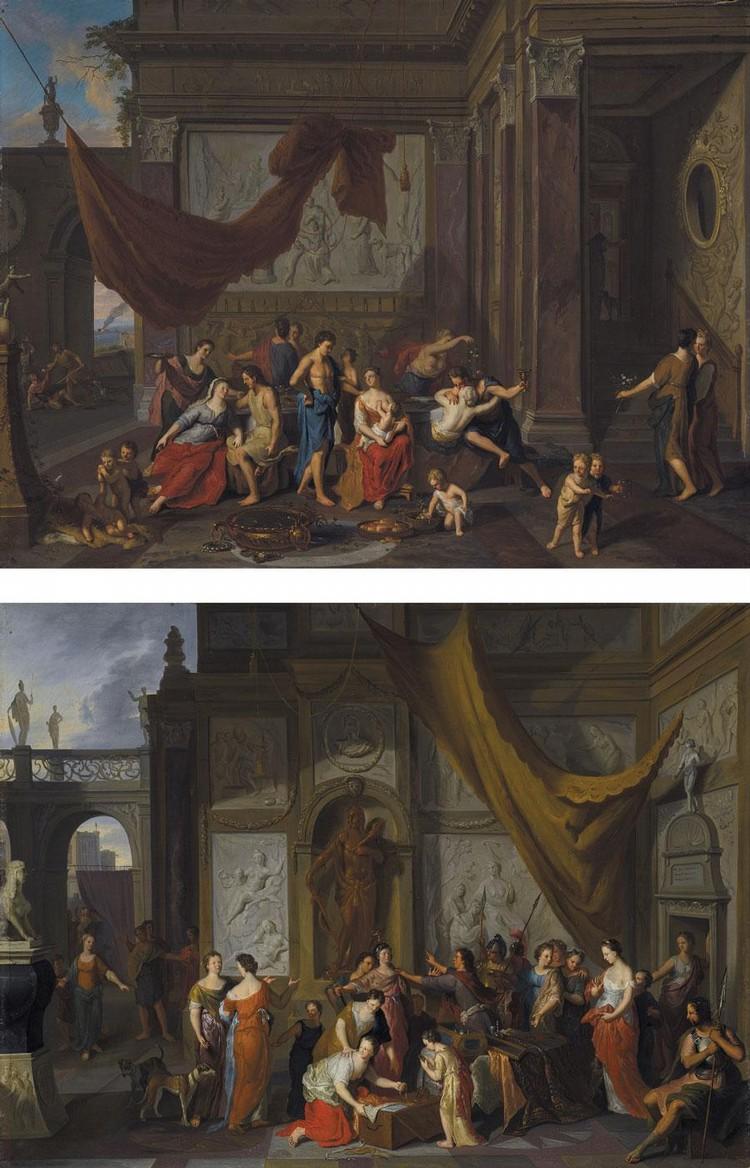 GERARD HOET AND STUDIO ZALTBOMMEL 1648 - 1733 THE HAGUE