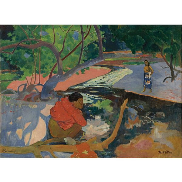 Paul Gauguin , 1848-1903 Te Poipoi (Le Matin) Oil on canvas