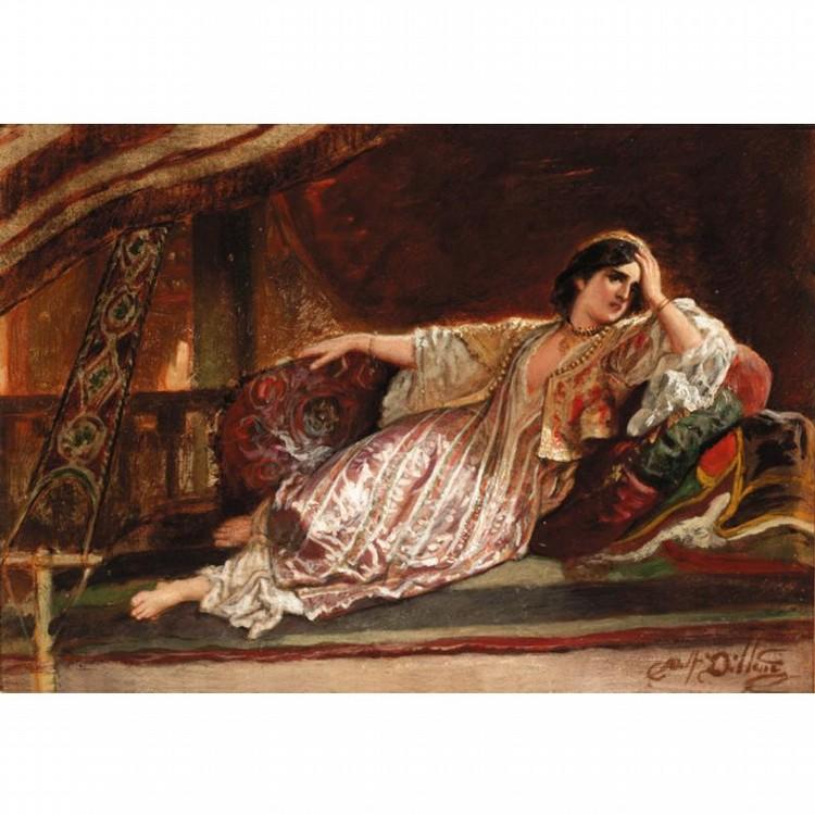 ADOLF ALEXANDER DILLENS, BELGIAN 1821-1877