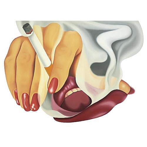 l - Tom Wesselmann , Smoker # 17