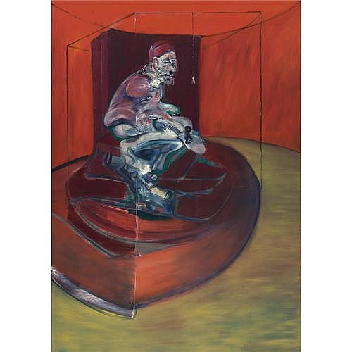 Francis Bacon , Study from Innocent X