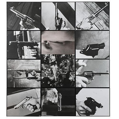 John Baldessari , Kiss/Panic
