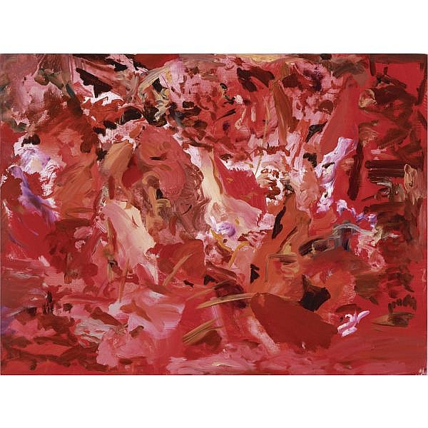 Cecily Brown , b. 1969 Untitled # 23 oil on canvas