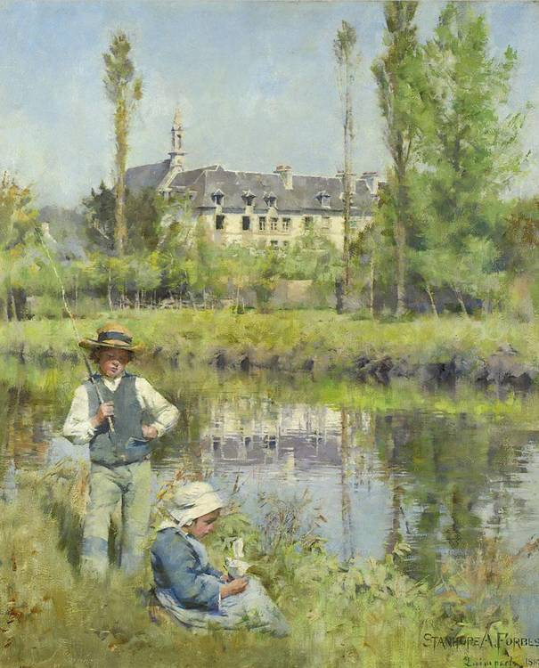 f - STANHOPE ALEXANDER FORBES, R.A. 1857-1947