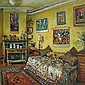 Margaret Olley 1923-2011 YELLOW ROOM, AFTERNOON (1990) oil on board