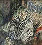 Frances Hodgkins 1869-1947 BRETON PEASANT (1909-1912) watercolour on paper