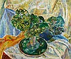 GRACE COSSINGTON SMITH 1892-1984 Hydrangea and Plate 1944 oil on board