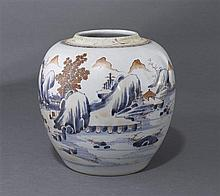 A Chinese Imari ginger jarQing dynasty, 18th century (3)