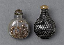 Two snuff bottles (5)
