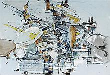 WILLIAM ROSE 1929-1997 (Untitled) oil on composition board
