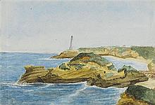 ARTIST UNKNOWN late 19th century Four Views of Fremantle:(Arthur Head and Lighthouse)watercolour17.7 x 25.8 cm(Bather's Bay Whaling...