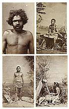 J.W. LINDT 1845-1926 Australian Chief (circa 1875-1880)photograph, carte-de-visiteinscribed 'Australian Chief' lower centre 9.8 x 6...