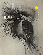 BRETT WHITELEY 1939-1992 Kookaburra (1983) screenprint and offset lithography on paper