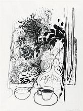 BRETT WHITELEY 1939-1992 View of the Garden (1977) lithograph on paper