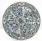 AN UNUSUAL CIRCULAR PLAQUE LATE QING DYNASTY