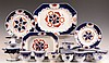 LARGE SET OF GAUDY IRONSTONE CHINA