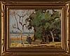 EMERSON LEWIS(Kansas & California 1892-1958) OIL ON