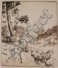 HUBERT MORLEY (1888-1951) PENCIL SIGNED DRY POINT ETCHING