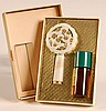 COTY COMPACT AND PERFUME GIFT SET WITH ORIGINAL BOX
