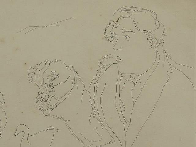 MARY HUNTOON (1896-1970) PENCIL SIGNED LITHO