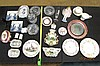 Assorted Porcelain & Glass Dish Lot Capodimonte